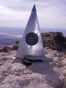 Summit, Guadalupe Peak, TX