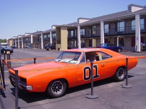 General Lee, Dukes of Hazzard Museum, Nashville, TN: Click to enlarge.
