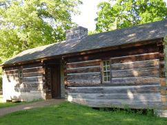 Grinder House in which Meriwether Lewis died, Natchez Trace Parkway, TN